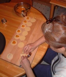 Making Fresh Ravioli  meat / spinach & cheese / acorn squash