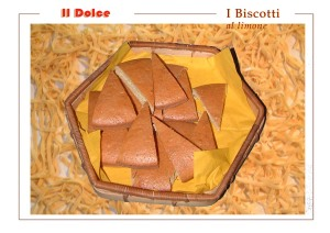 I Biscotti all'anice e limone