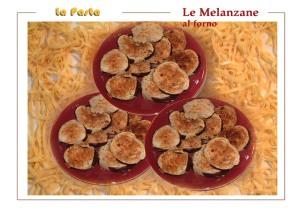 Le Melanzane al Forno.BAKED (not fried)