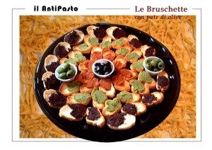 La Bruschetta with olives