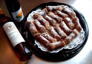 I cannoli siciliani   fresh ricotta citrus fruits almonds cacau chocolate.
