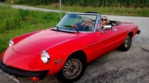 l'Alfa Romeo & la Patrizia in paradiso