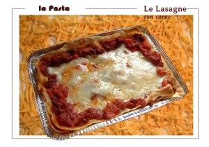Il Pasticcio (veneto) oppure La lasagna - la Lasagna Bolognese (with organic beef 90% lean.